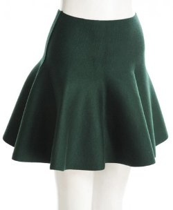 Chicnova - High Waisted Flare Skirt