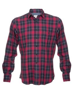 Hartford  - Plaid Dobby Shirt