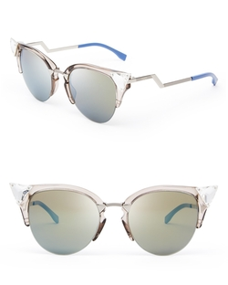 Fendi - Mirrored Cat Eye Sunglasses