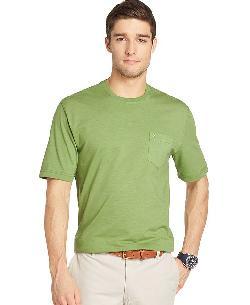 Izod  - Solid Crew Neck T-Shirt