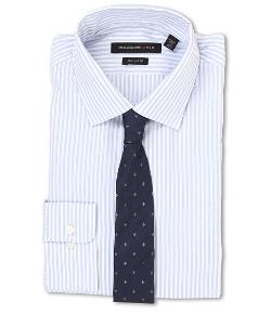 John Varvatos - Regular Fit Stripe Dress Shirt