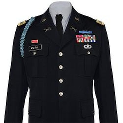 USA Military Medals  - Army Service Uniform Male Dress Coat