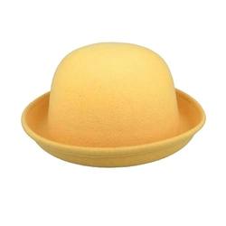 AIYUE - Wool Felt Bowler Hat