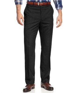 Michael Kors  - Flat-Front Dress Pants