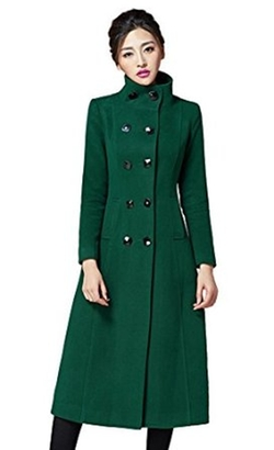 Chickle - Walker Long Wool Coat