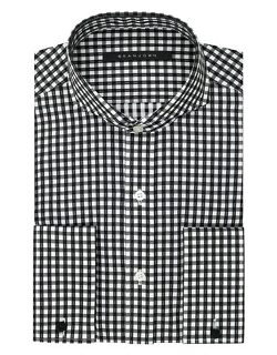 Sean John  - Regular Fit Gingham Check Dress Shirt