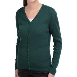 IB Diffusion - Ribbed Cardigan Sweater