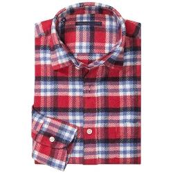 Mason's - Brushed Cotton Multi-Plaid Sport Shirt