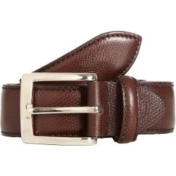 Battistoni - Grained Dress Belt