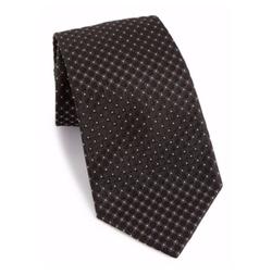 Armani Collezioni  - Checkered Silk Tie