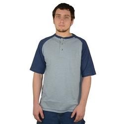 Stanley - Colorblock Raglan Henley Shirt