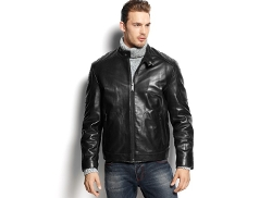 Marc New York  - Sander Quilted Leather Moto