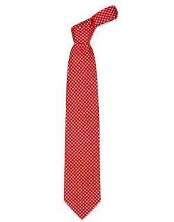 Forzieri - Mini Squares Woven Silk Tie