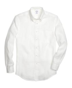 Brooks Brothers - Regent Fit Linen Sport Shirt