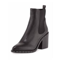 Derek Lam 10 Crosby - Renee Studded Block-Heel Chelsea Boots