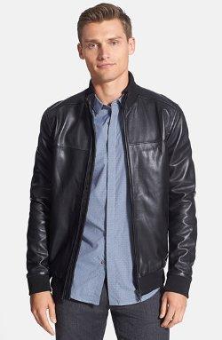 Theory - Sheepskin Leather Jacket