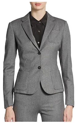 Piazza Sempione  - Stretch Herringbone Blazer