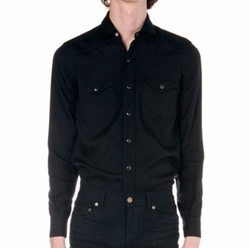 Saint Laurent - Western Long-Sleeve Shirt
