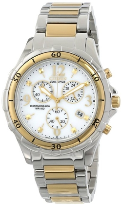 Citizen - Two-Tone Stainless Steel Eco-Drive Watch