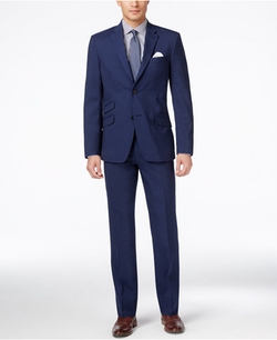 Tommy Hilfiger - Sharkskin Classic-Fit Suit