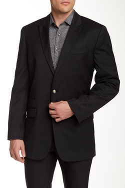 Robert Graham - Peak Lapel Wool Blazer