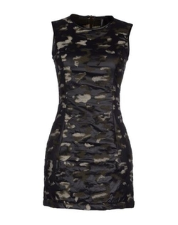 Plein Sud Jeanius - Camouflage Short Dress