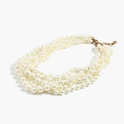 J. Crew - Pearl Twisted Hammock Necklace