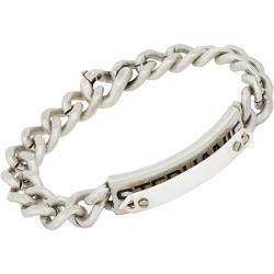Maison Martin Margiela  - Curb Chain Double-layer Id Bracelet