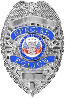 Rothco - Silver Deluxe Special Police Badge