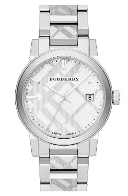 Burberry - Check Stamped Bracelet Watch