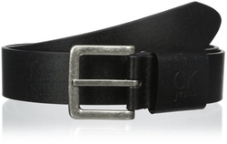 Calvin Klein - Brass Buckle Leather Belt