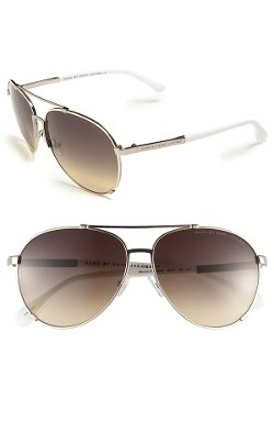 Marc By Marc Jacobs - Metal Aviator Sunglasses
