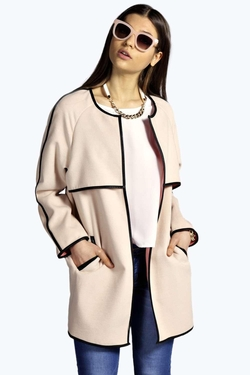 Boohoo Boutique - Boutique Olivia Bonded Cocoon Coat