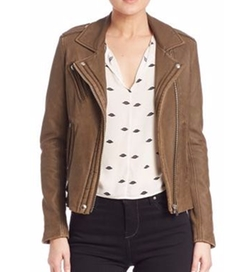 IRO - Han Leather Moto Jacket