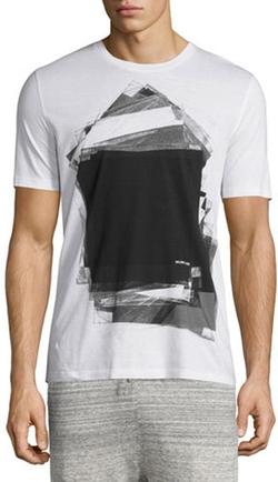Helmut Lang - Graphic-Print Short-Sleeve T-Shirt