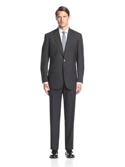 Brioni  - Pinstripe Notch Lapel Suit