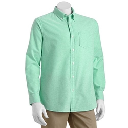 Sonoma - Solid Oxford Button-Down Shirt