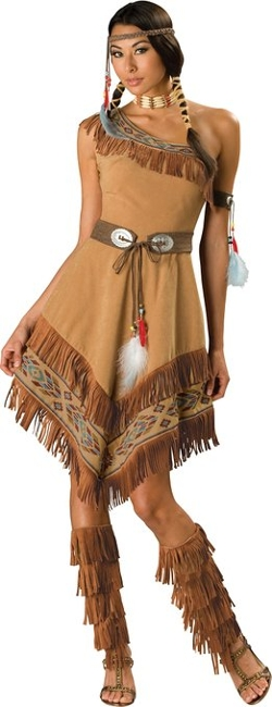 Incharacter Costumes - Indian Maiden Costume