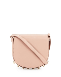 Alexander Wang  - Lia Mini Leather Saddle Bag