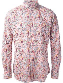 GLANSHIRT - floral print shirt