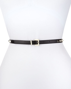 Valentino - Leather Rockstud Belt