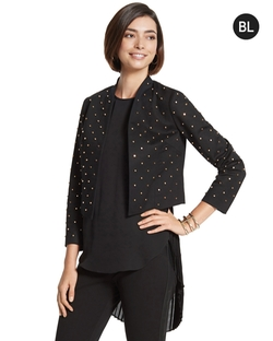 Black Label - Studded Crop Jacket