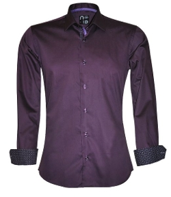 No ID - Cotton Slim Fit Dustin Shirt