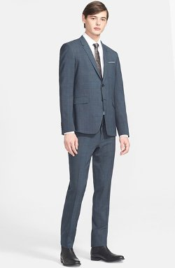 Paul Smith London - Kensington Trim Fit Plaid Wool Suit