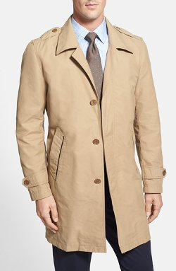 Cole Haan  - Cotton Blend Twill Car Coat