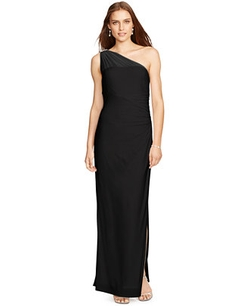 Lauren Ralph Lauren  - One-Shoulder Gown