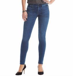 Loft - Curvy Super Skinny Utility Jeans