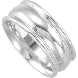 JewelryWeb - Design Duo Band Ring