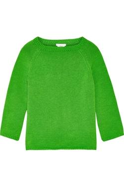 Oscar De La Renta - Knitted Cotton Sweater