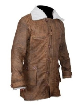 Samnas Traders - Leather Shearling Jacket